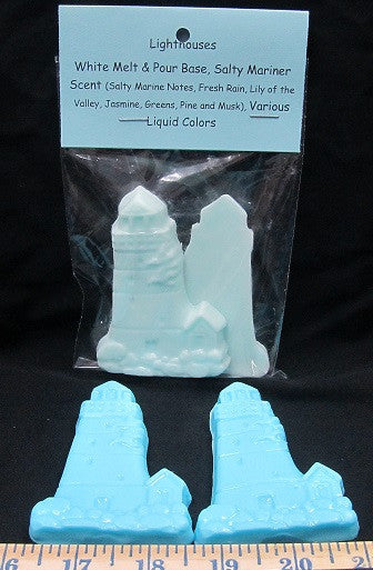 Lighthouses Novelty Soap