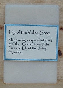 RCS Handcrafted Soap: Lily of the Valley Bar