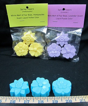 Spring Flowers Novelty Soap