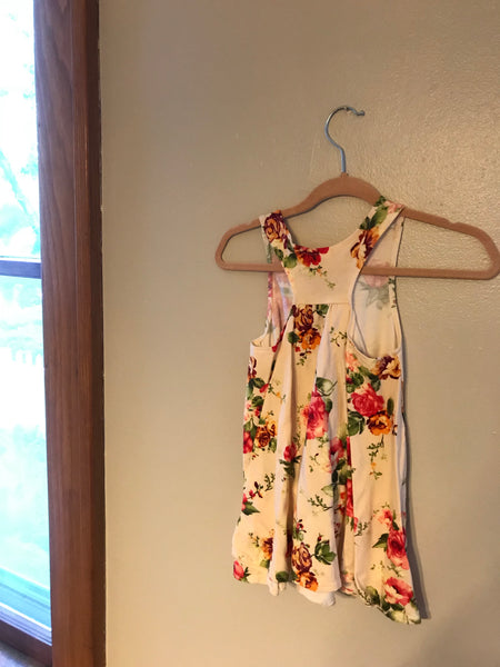 Child Floral Swing Dress 2T