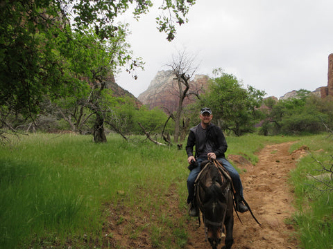 stoma guard horseback riding Zion