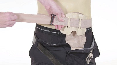 stoma guard adjustable belt