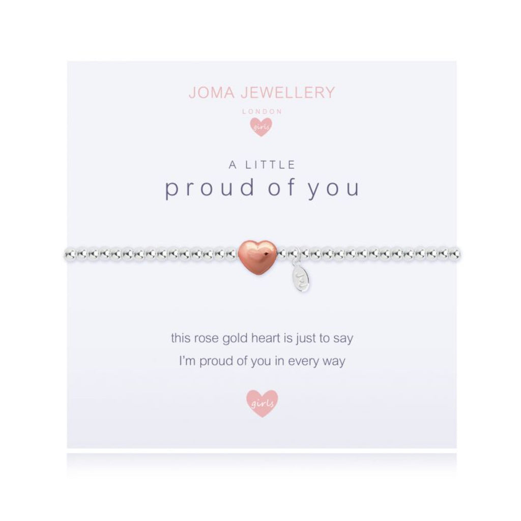 Joma Girls a little proud of you bracelet