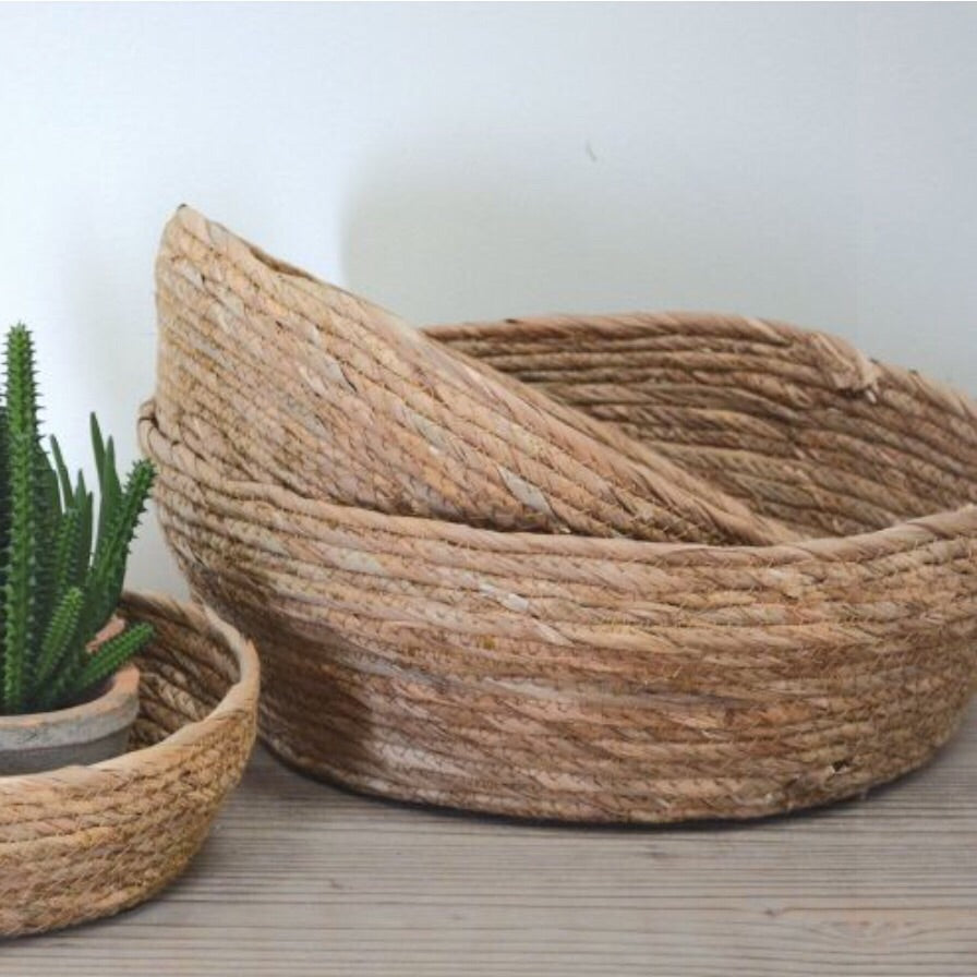 Seagrass Round Baskets