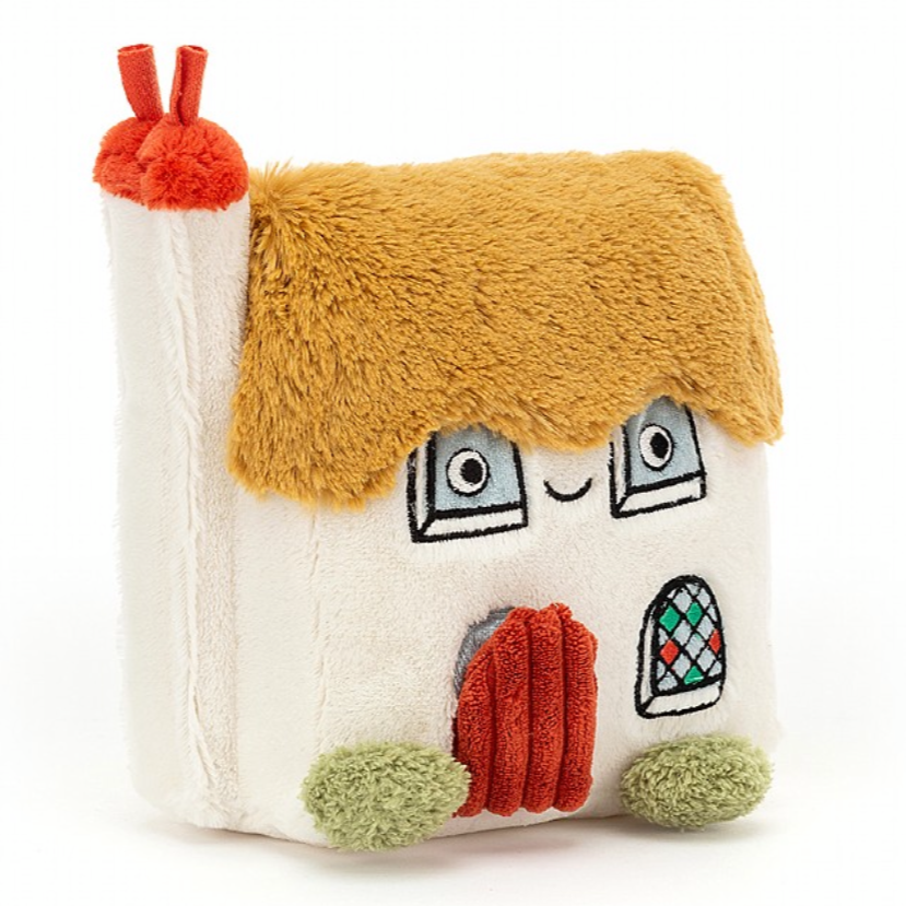jellycat bonny cottage activity house