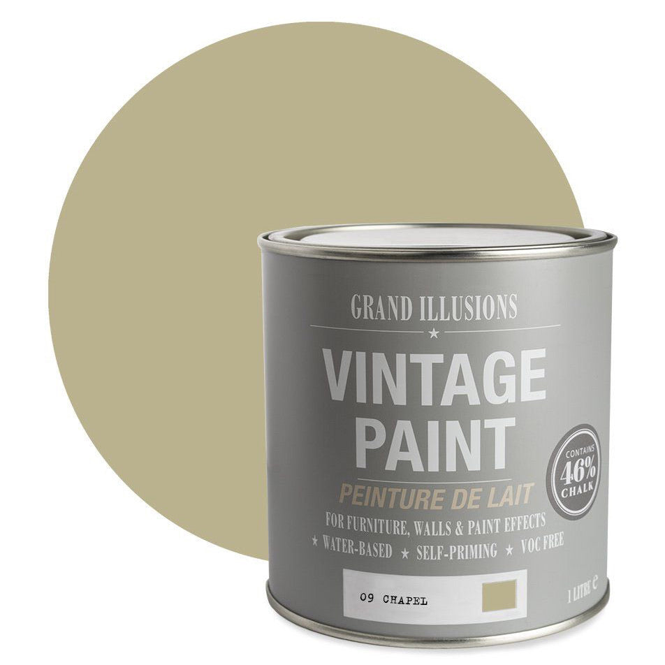 vintage chalk paint no 9 chapel
