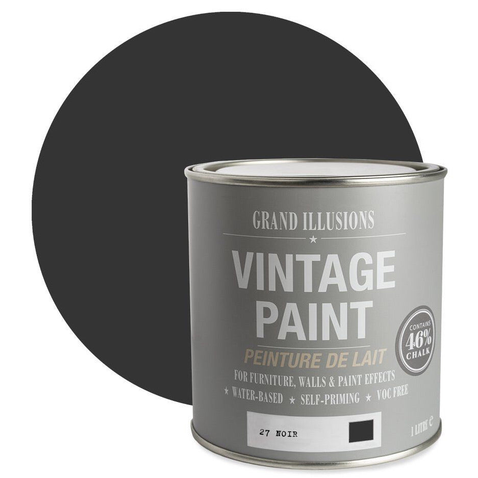 vintagechalk paint no 27 noir
