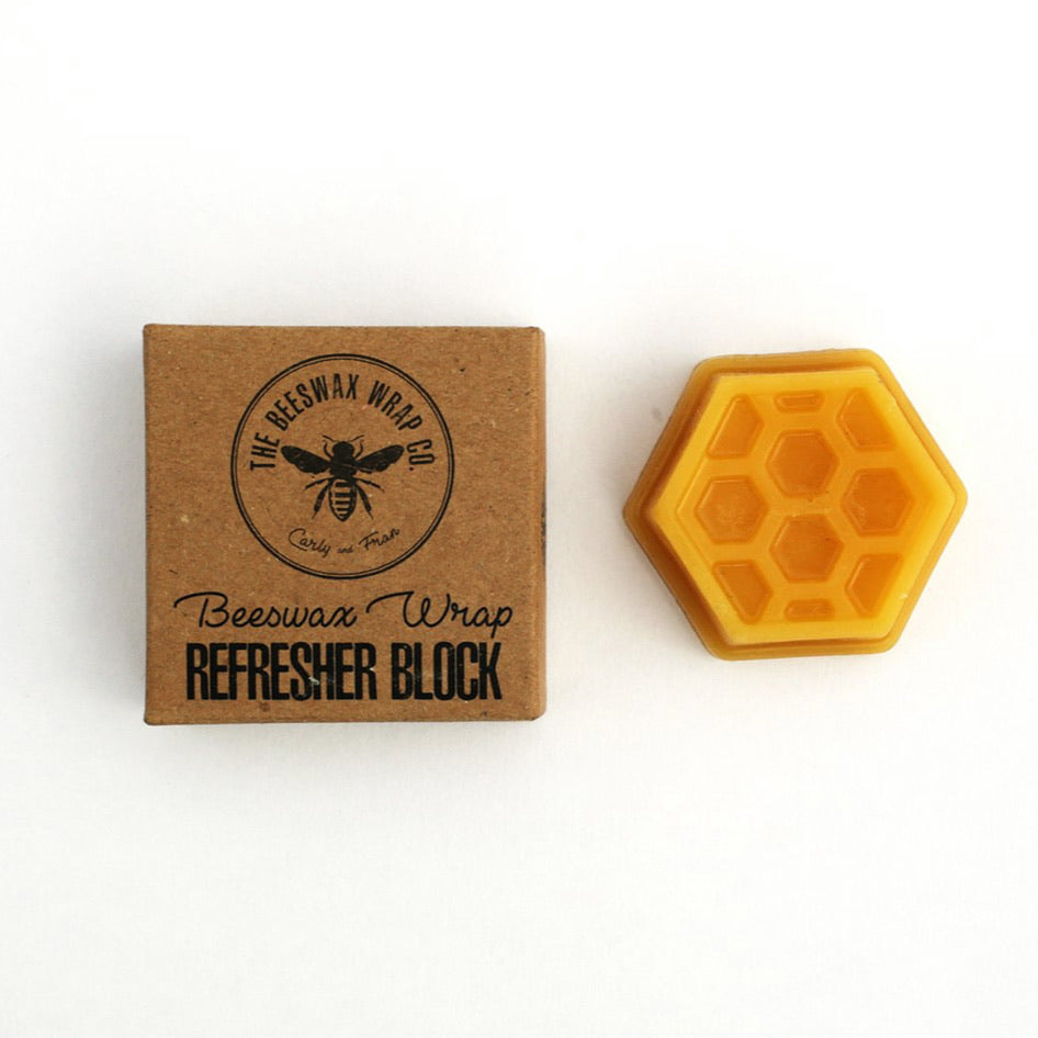 bees wax wraps refresher block