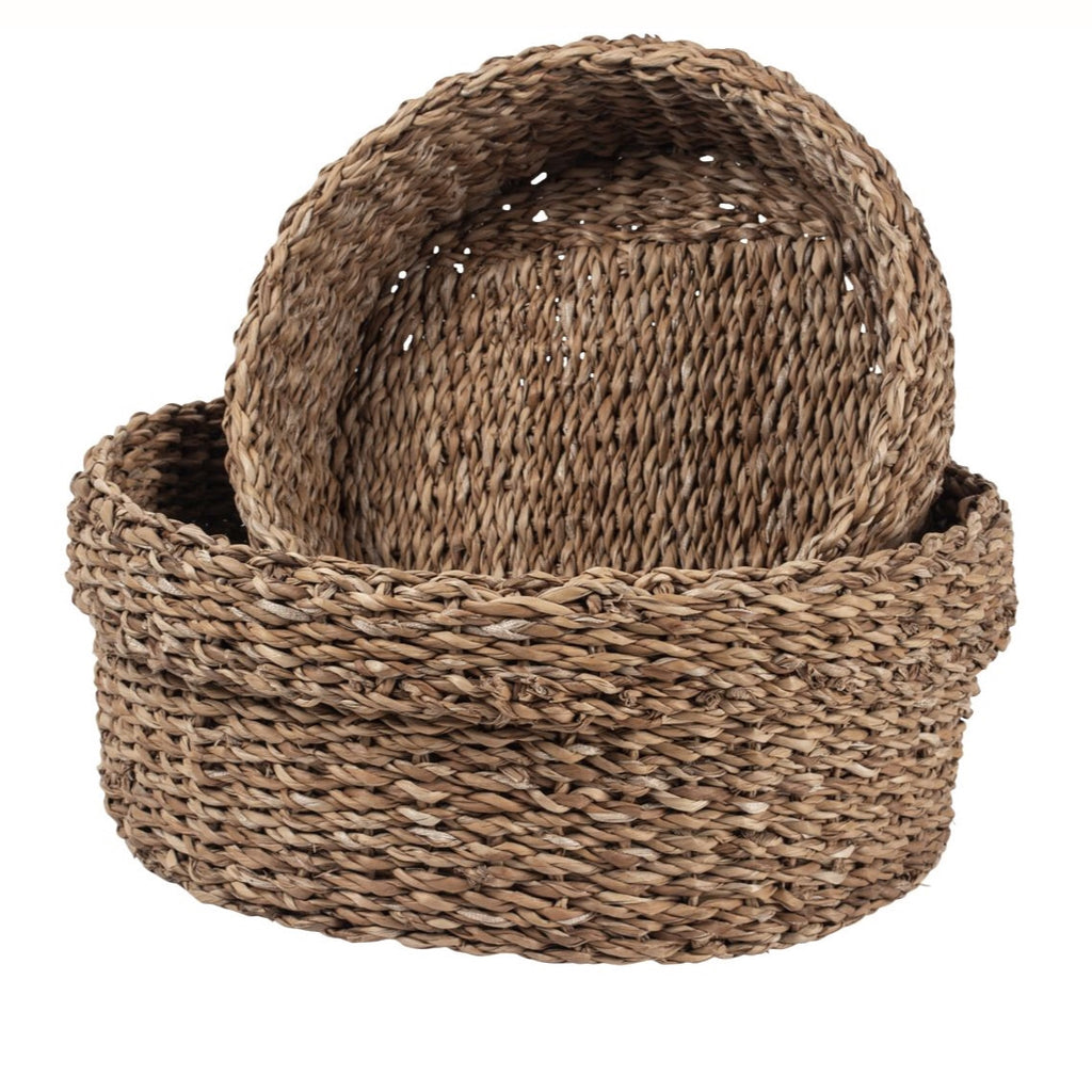 Basket Set with Wide Rim