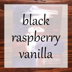 Black Raspberry Vanilla Bath & Body Collection | Bubble Tree Soapery