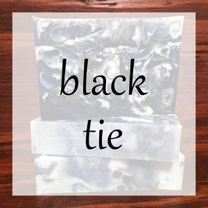 Black Tie Bath & Body Collection | Bubble Tree Soapery