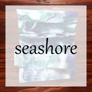 Seashore Bath & Body Collection | Bubble Tree Soapery
