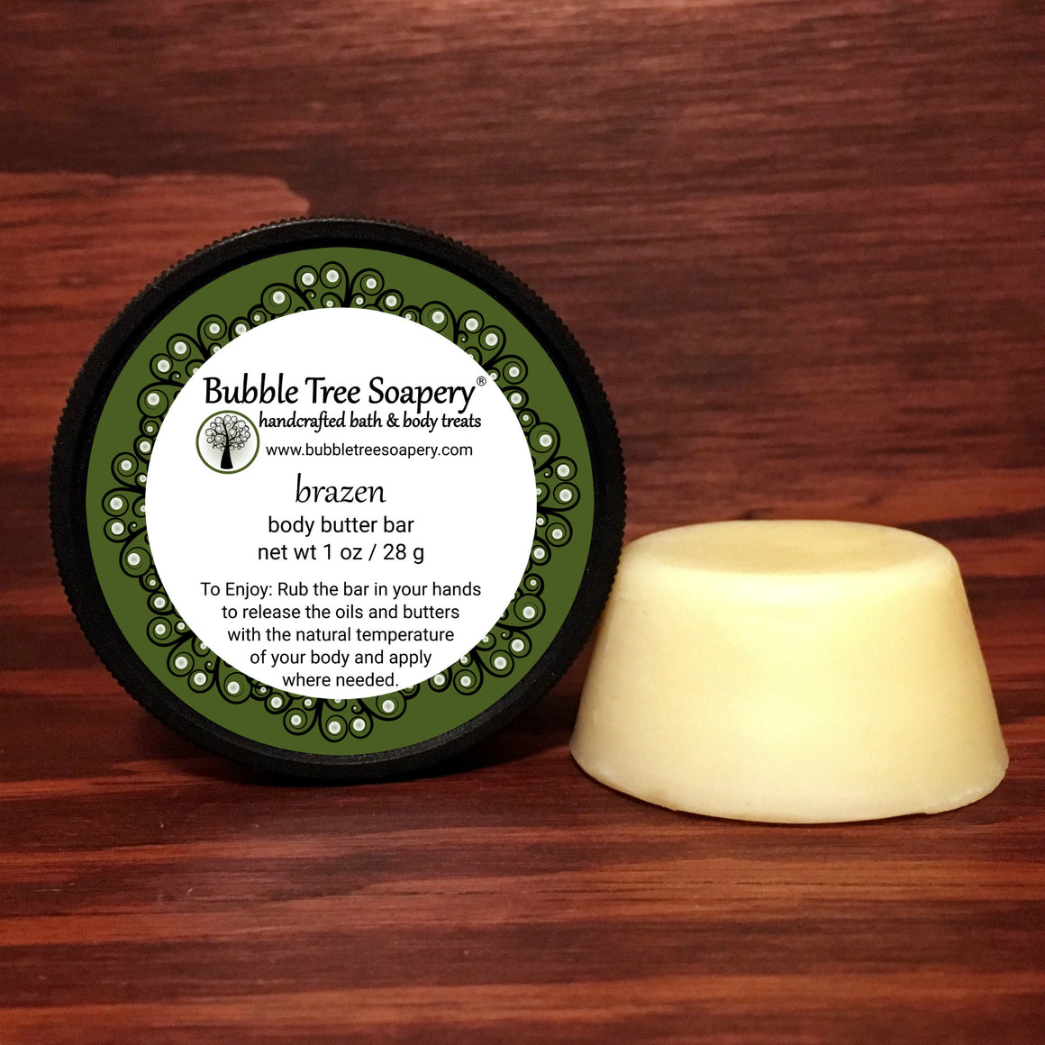 Brazen Body Butter Bar | Bubble Tree Soapery