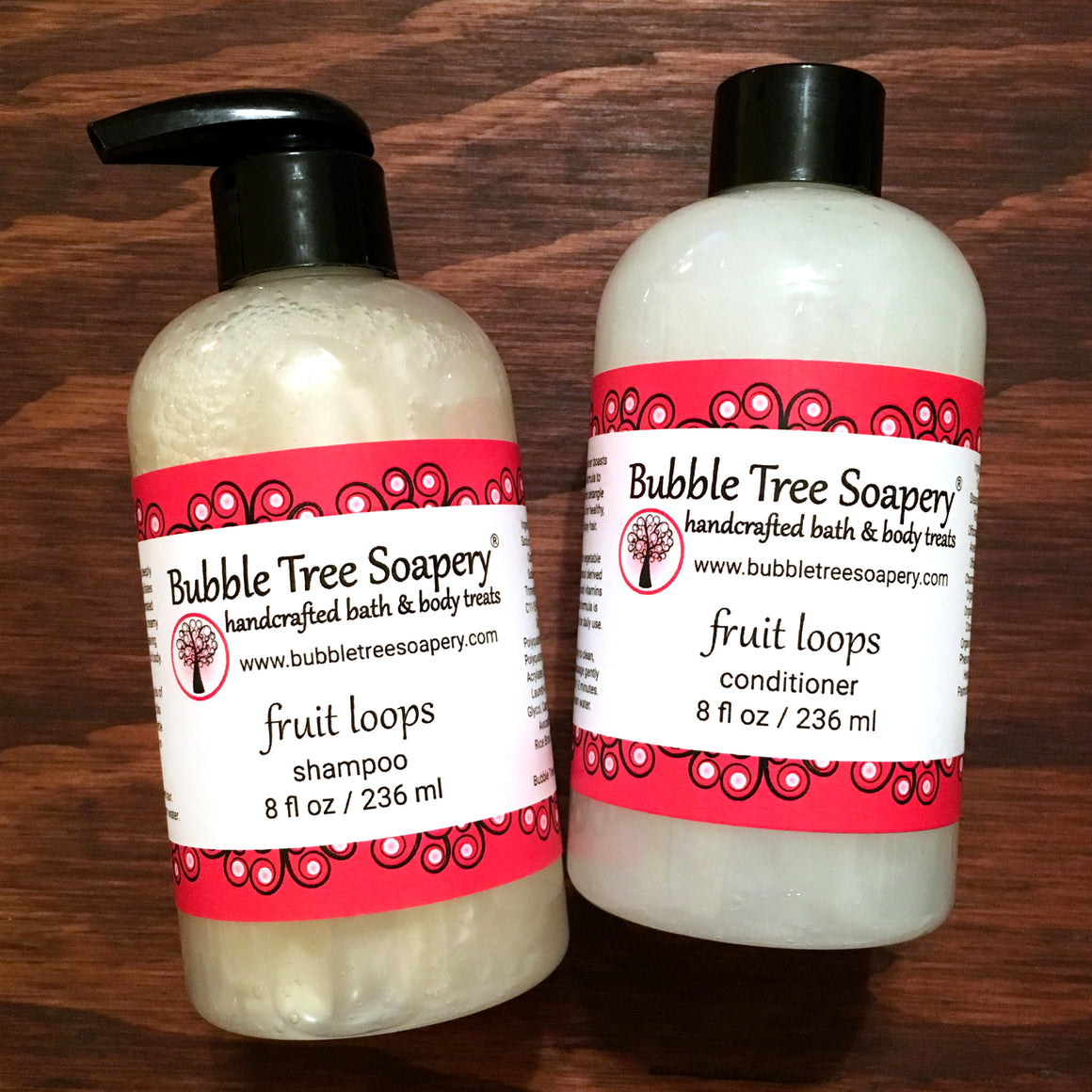 Fruit Loop Shampoo & Conditioner | Bubble Tree Soapery