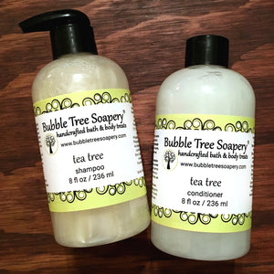 Tea Tree Shampoo & Conditioner