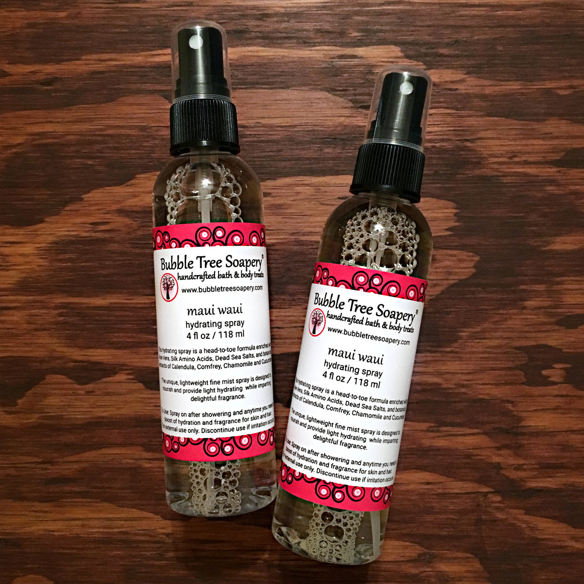 Maui Waui Hydrating Body Spray | Bubble Tree Soapery
