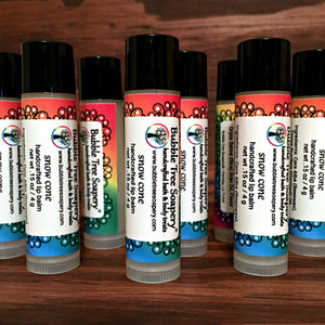 Snow Cone Lip Balm - Bubble Tree Soapery