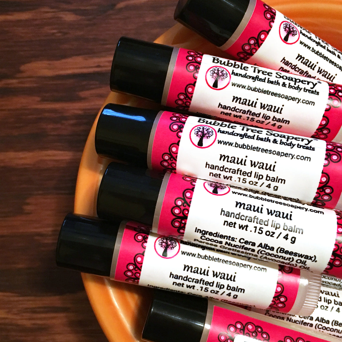 Maui Waui Lip Balm - Bubble Tree Soapery