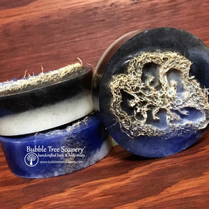 Black Tie Loofah Soap | Bubble Tree Soapery