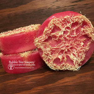 Pink Sugar Loofah Soap | Bubble Tree Soapery