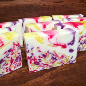Lei'd Back Goat Milk Soap | Bubble Tree Soapery