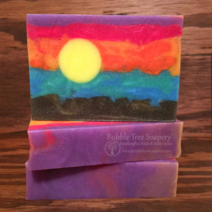 Maui Waui Sunset Soap | Bubble Tree Soapery