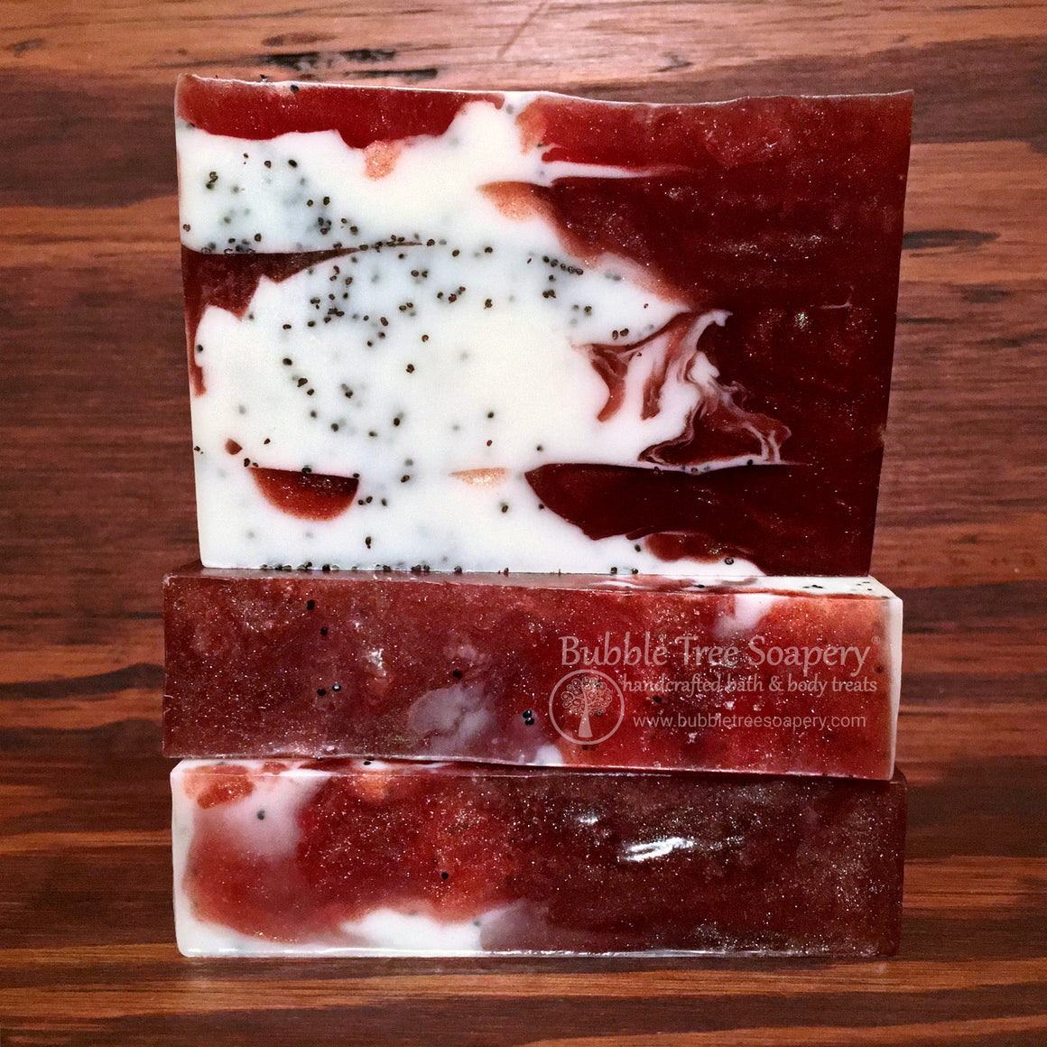 Pomegranate Goat Milk Soap | Bubble Tree Soapery