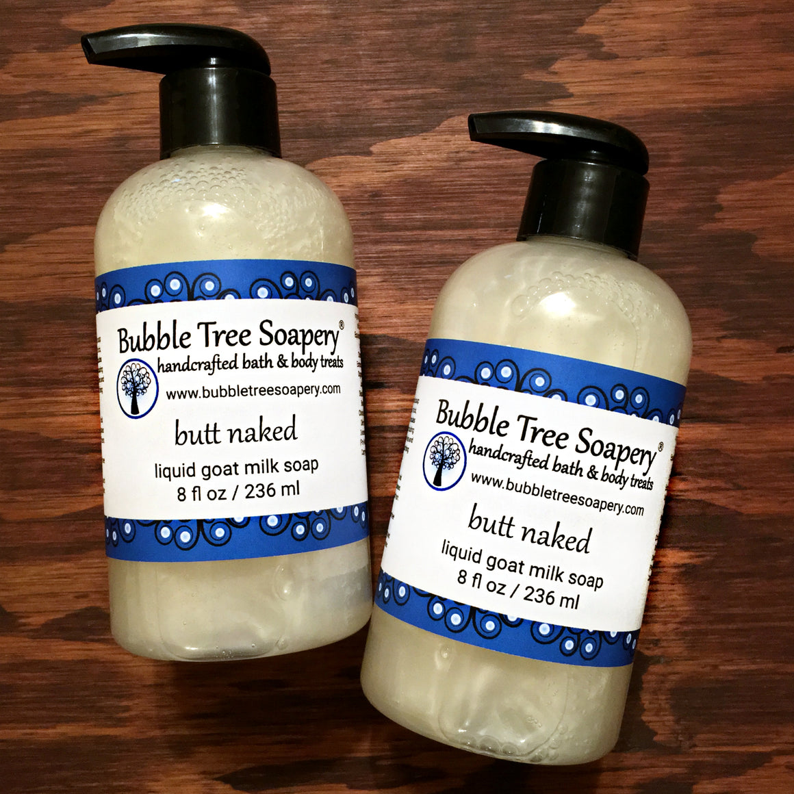 Butt Naked Liquid Goat Milk Soap | Bubble Tree Soapery