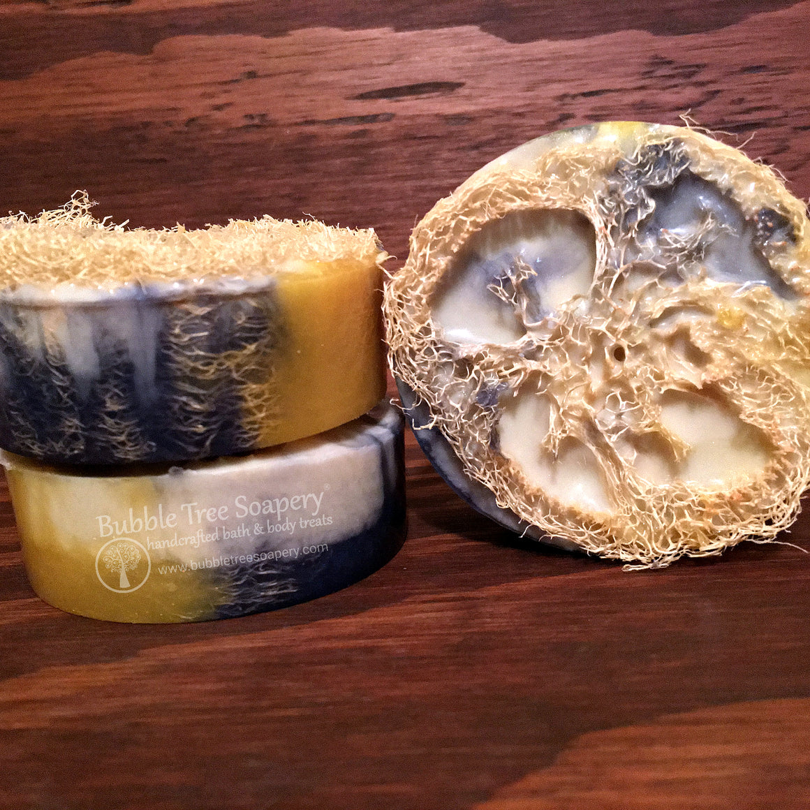 Butt Naked Goat Milk Loofah Soap