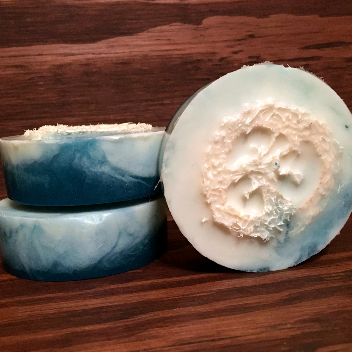 In The Cabana Loofah Soap | Bubble Tree Soapery