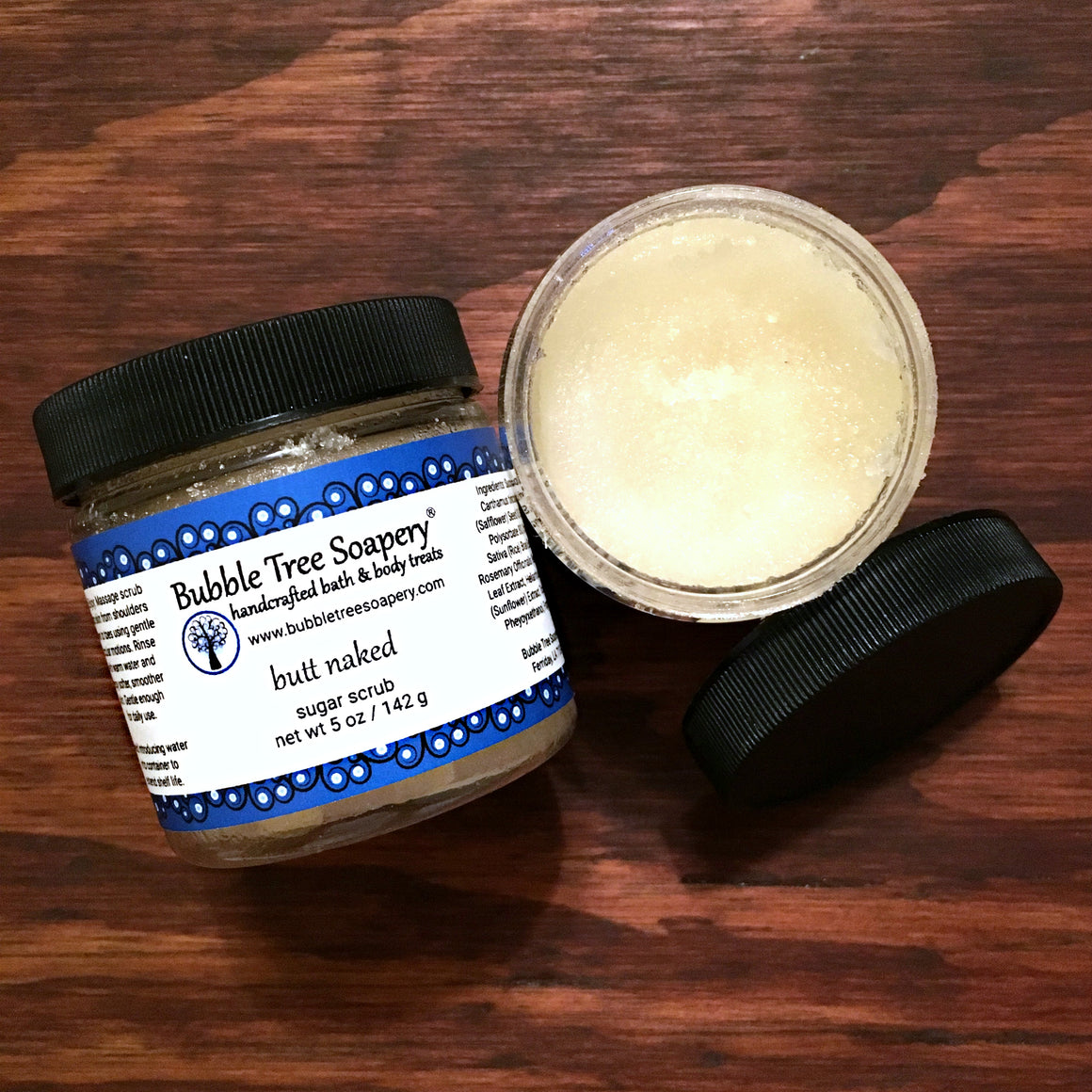 Butt Naked Sugar Scrub | Bubble Tree Soapery