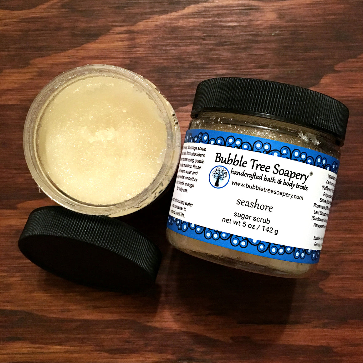 Seashore Sugar Scrub | Bubble Tree Soapery