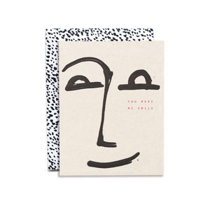 the smile greeting card