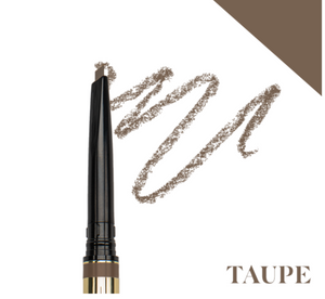 browluxe® precision brow pencil- taupe c-01