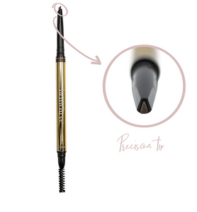 browluxe® precision brow pencil- carbon n-02
