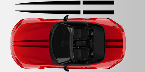 Mazda Miata MX5 ND Split Center Vinyl Racing Stripe