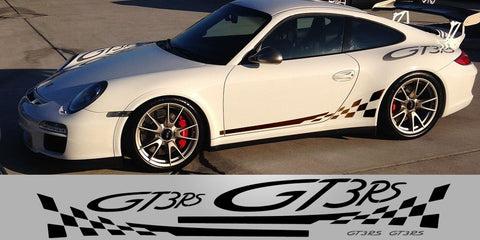 Porsche 997 GT3 RS Full Decal Livery