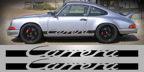 New style Porsche Carrera side decals