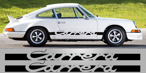 911 Carrera Original 2.7 RS Side Decals