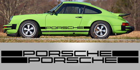 Porsche 911 IROC RSR Side Decal Vinyl Graphics