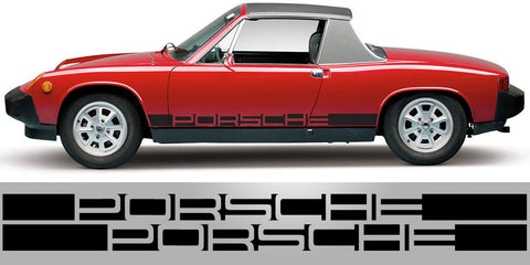 Porsche 914 Negative Side Stripe
