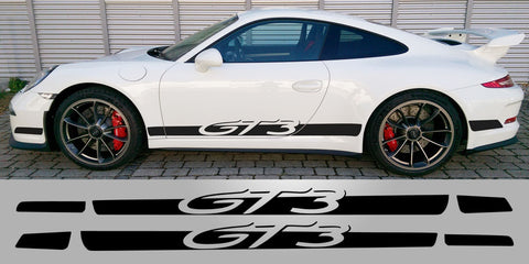 Porsche 991.1 GT3 Side decal script