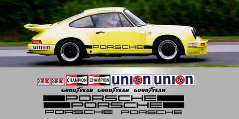 011 Porsche RSR IROC Full Decal Livery