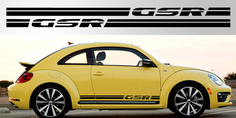 VW Volkswagen Bettle GSR Side Decals