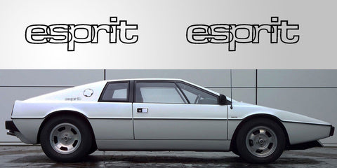 Lotus Esprit logo decals