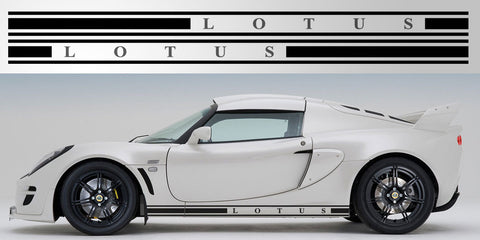 Lotus Exige Vinyl Rocker Decal Graphic