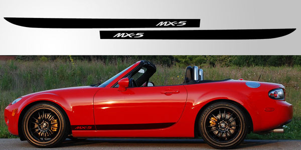 Mazda Miata Mx 5 Nc Stripe Decal Graphic Stripe Garage