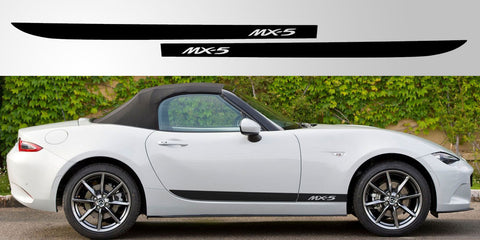 Mazda MX-5 ND vinyl stripe graphic decal