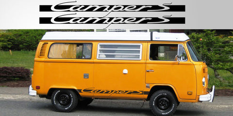VW Volkswagen Camper Porsche vinyl decal graphic