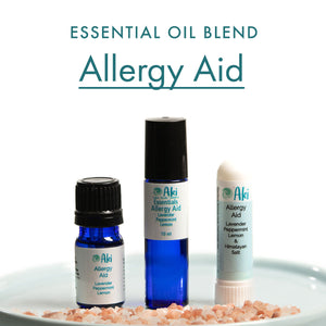 allergy aid - lavendar, peppermint, lemon
